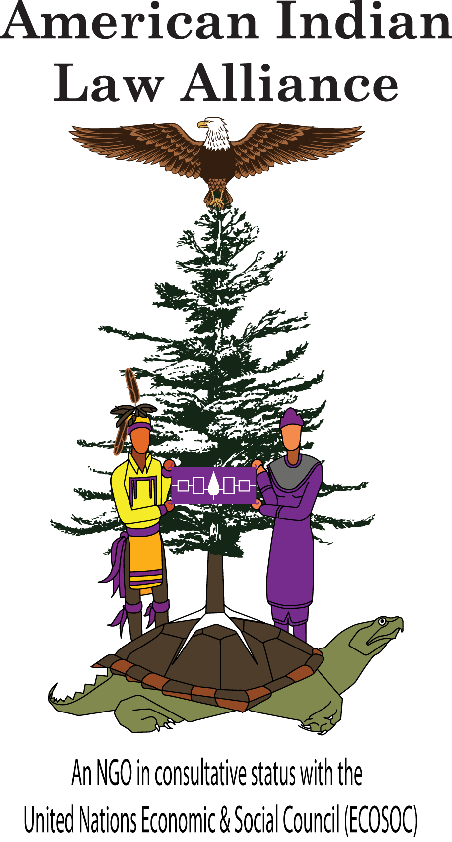 American Indian Law Alliance Official Logo