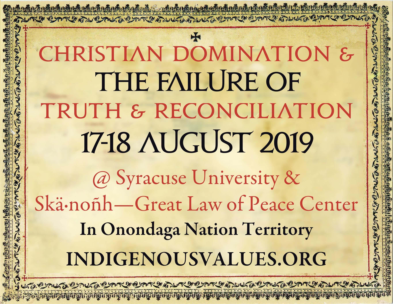Christian Domination Flyer
