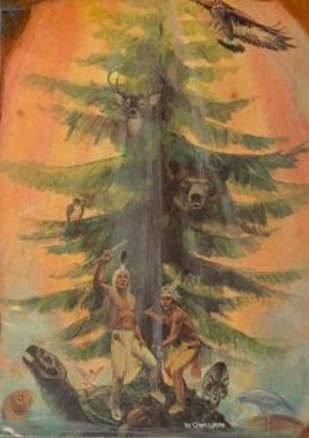 Great Tree of Peace by Oren Lyons
